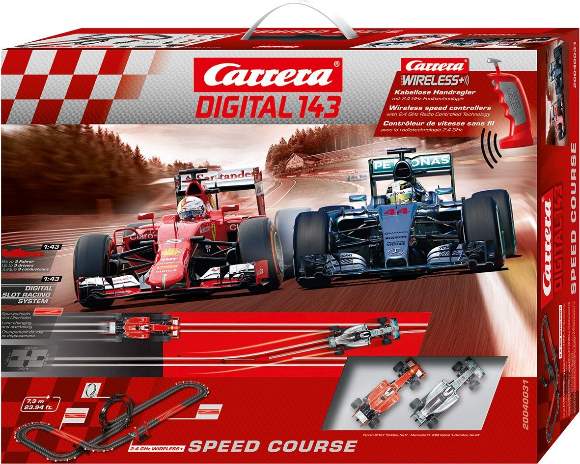 Carrera Autorennbahn, »Carrera® Digital 143 Speed Course«