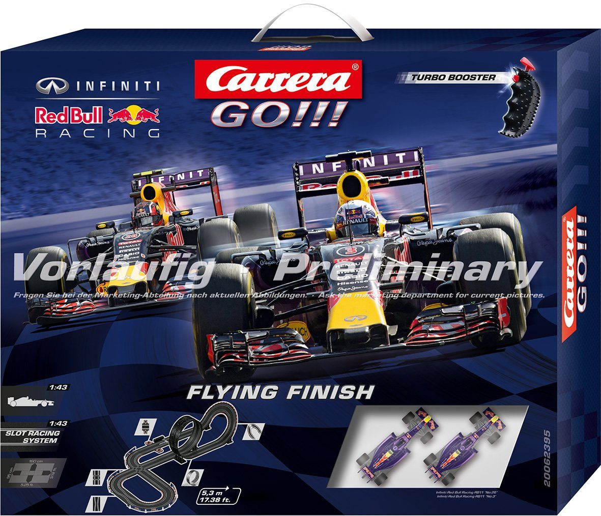 Carrera Autorennbahn, »Carrera® GO!!! Flying Finish«