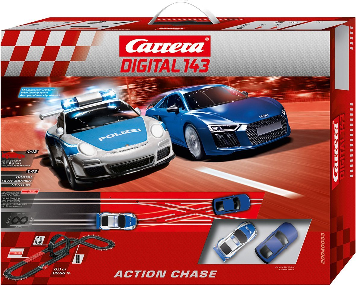 Carrera Autorennbahn, »Carrera® Digital 143 Action Chase«