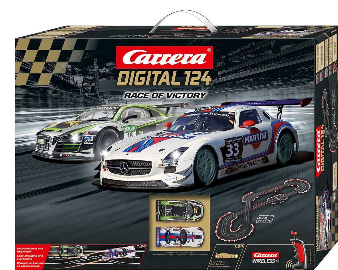 Carrera Autorennbahn, »Carrera® Digital 124 Race of Victory«