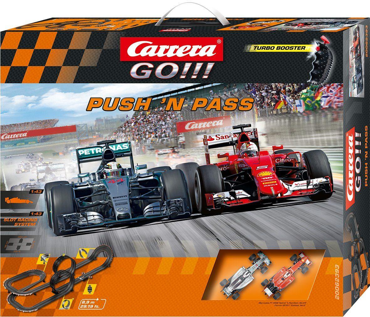 Carrera Autorennbahn, »Carrera® GO!!! Push 'n pass«