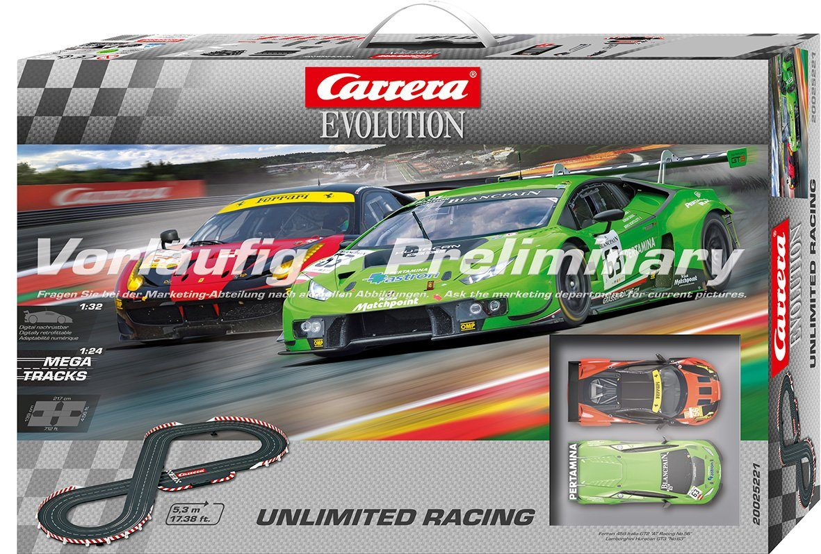 Carrera Autorennbahn, »Carrera® Evolution Unlimited Racing«
