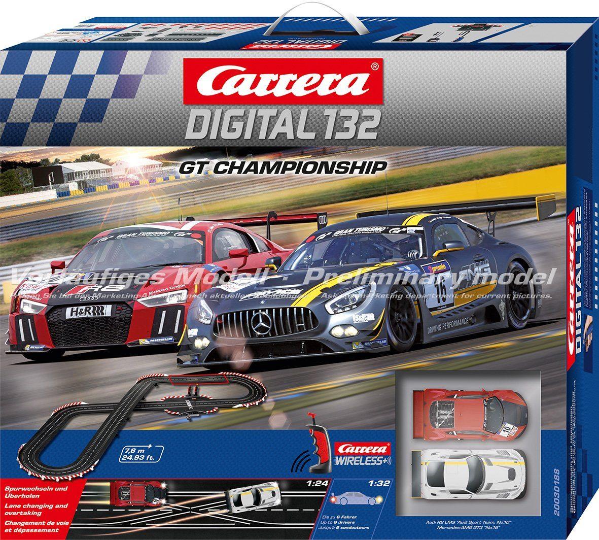 Carrera Autorennbahn, »Carrera® Digital 132 GT Championship«