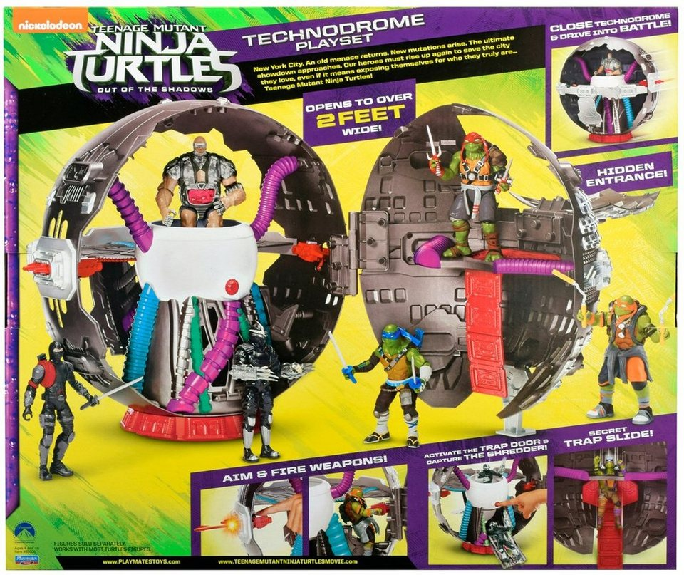 Spielfestung, »Teenage Mutant Ninja Turtles Movie II Technodrome Playset«