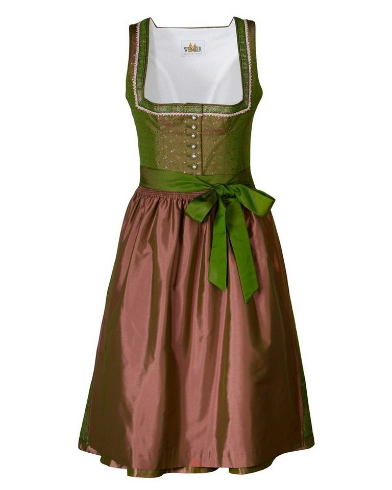 Wenger Midi Dirndl Candy in Taupe