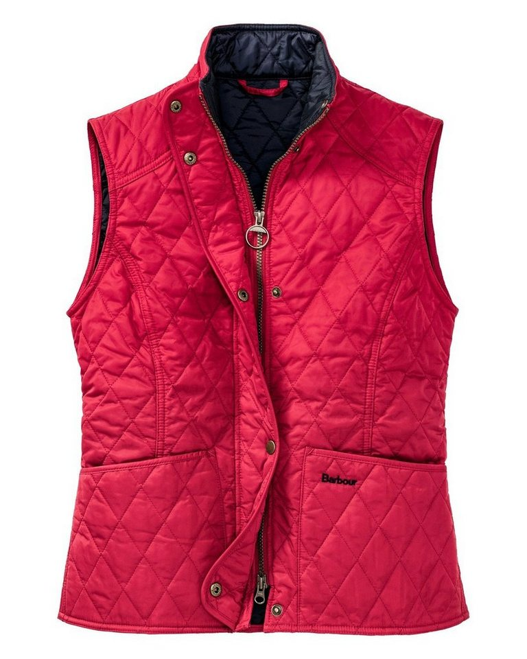 Barbour Steppweste Summer Liddesdale in Rot