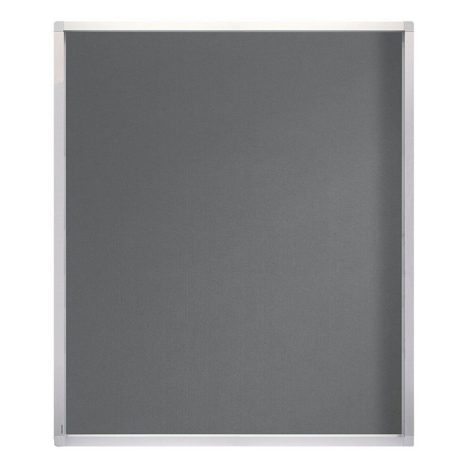 Franken Schaukasten »ECO« für den Außenbereich in silber grau