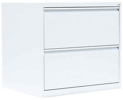 Steelboxx Hängeregisterschrank »Lüllmann® Hängeregistraturschrank, 2 Schubladen« (1-St) Komplett verschweißt und montiert - keine Montage erforderlich