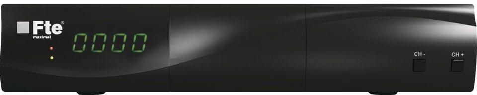 FTEmaximal Klassischer Satellitenreceiver »MAX S93+« in schwarz