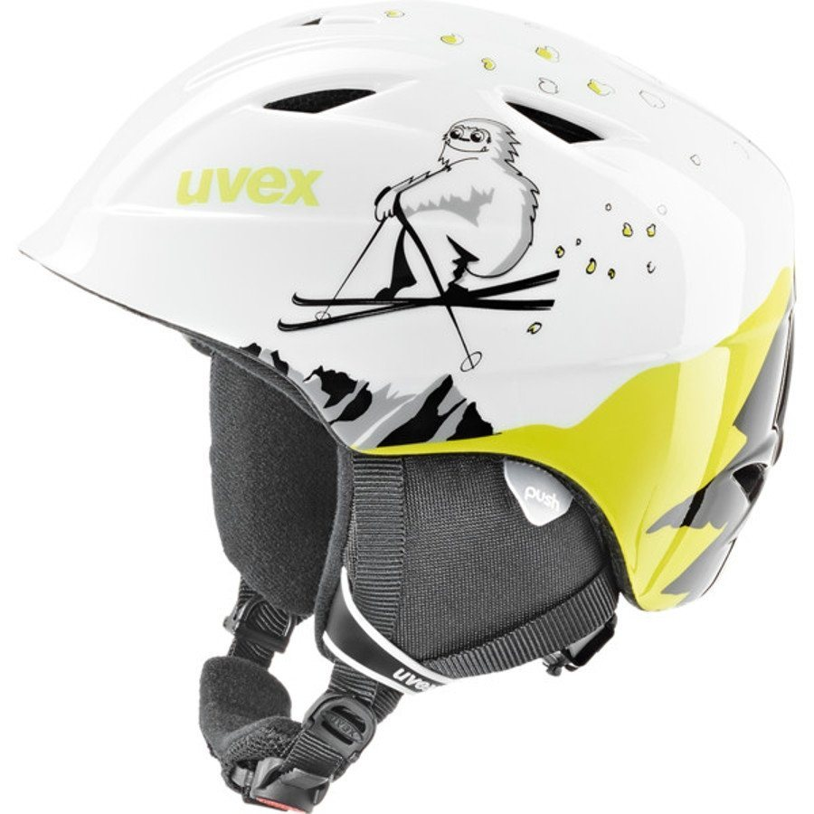 UVEX Ski - / Snowboardhelm »airwing 2 Helmet Junior« in weiß