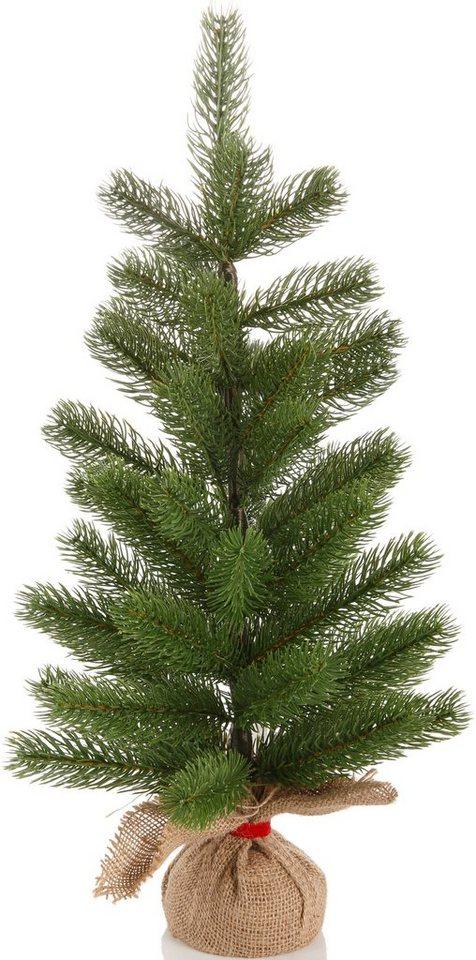 weihnachtbaum mit jutesack premium tannenbaum online. Black Bedroom Furniture Sets. Home Design Ideas