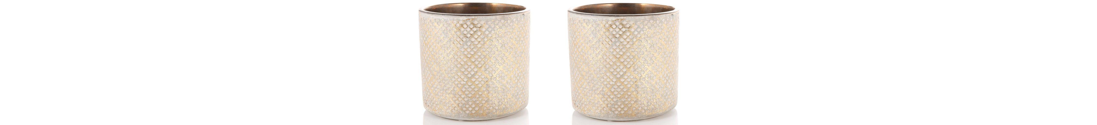 Keramik Übertopf, 2-teilig