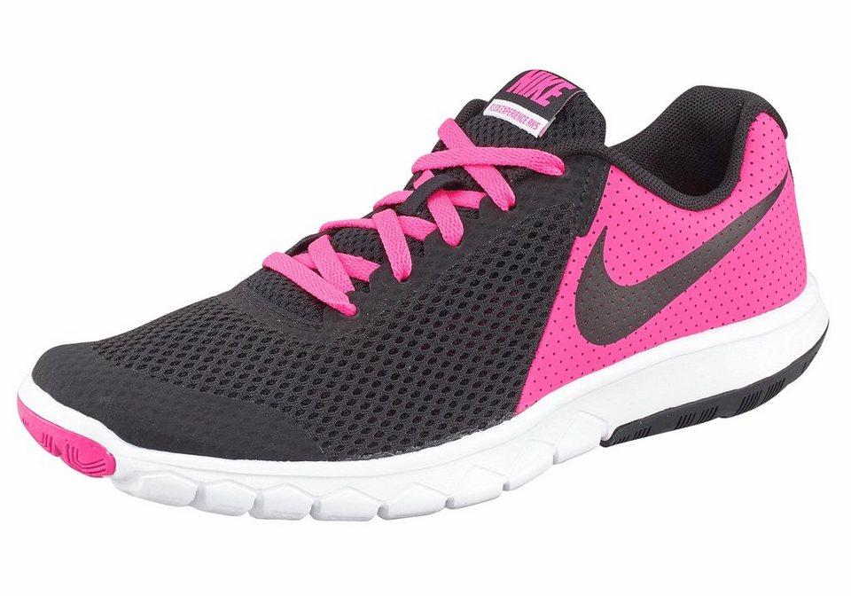 Nike »Flex Experience 5« Laufschuh in schwarz-pink