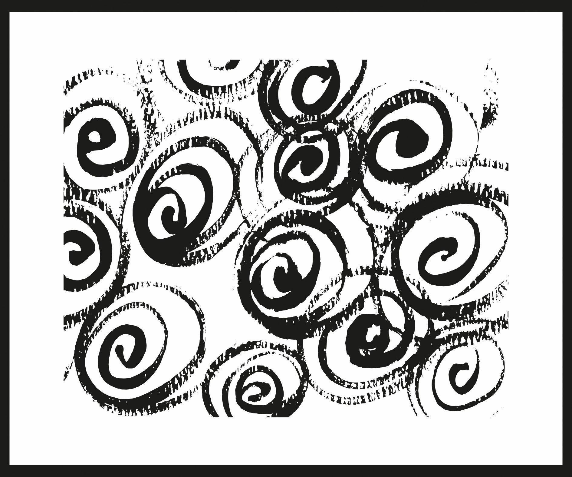 Home affaire Rahmenbild »Kreative Kreise«, 60/50 cm