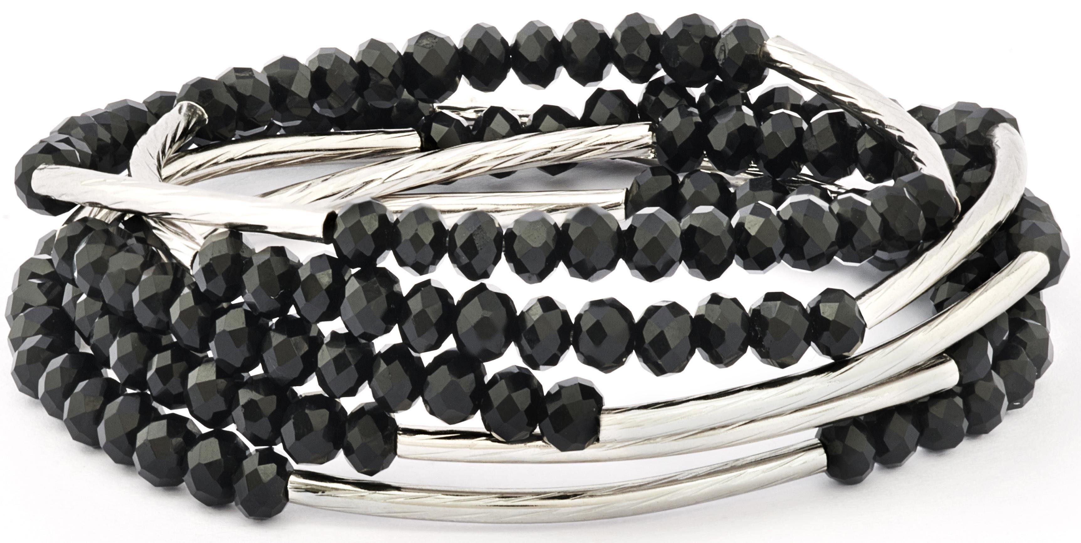 Chrysalis Wickelarmband »FRIENDSHIP - Glaube an dich selbst, CRWF0001SP-G« auch als Halskette tragbar, mit Glassteinen