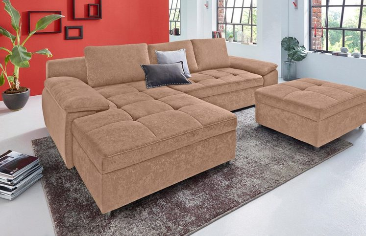 sit more ecksofa labene wahlweise mit bettfunktion und. Black Bedroom Furniture Sets. Home Design Ideas