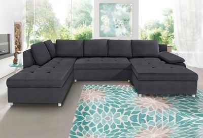 Xxl Wohnlandschaft Kaufen Sofa In U Form Otto