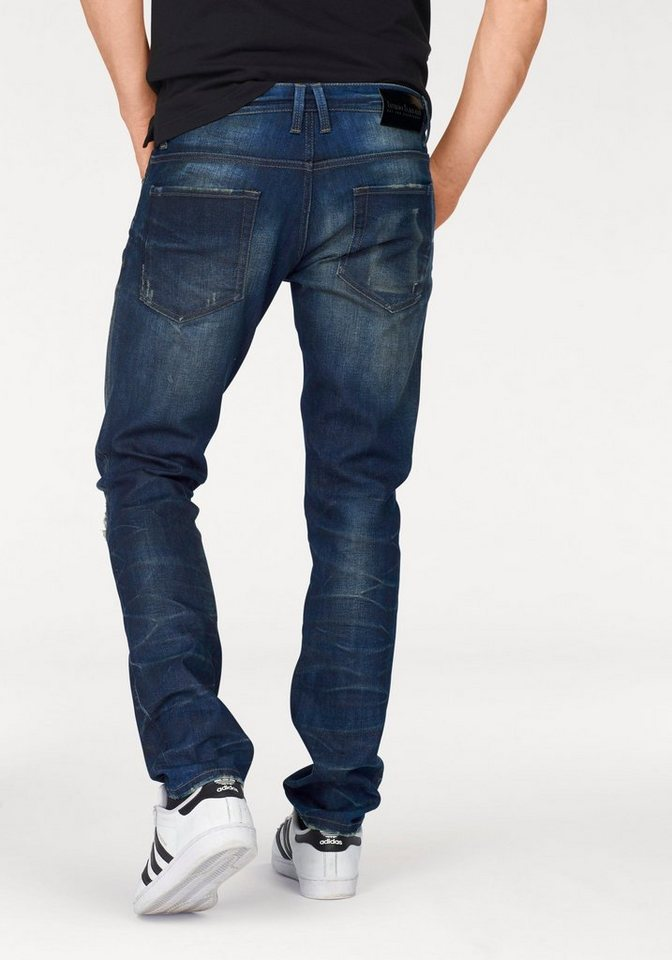 Bruno Banani Slim-fit-Jeans »Cole (Stretch)« in blue-dirty