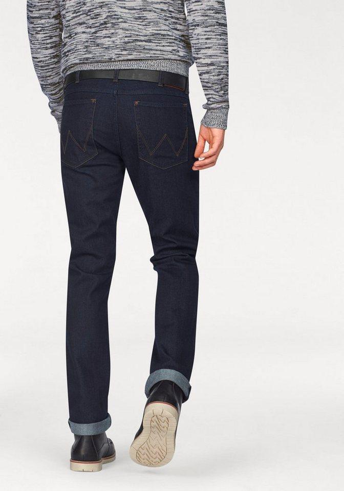 Wrangler Stretch-Jeans »Greensboro« Regular Straight in rinse-broke