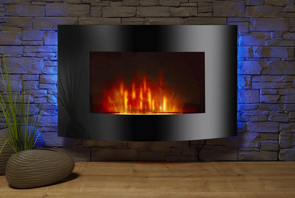 el fuego elektrokamin z rich mit led beleuchtung online kaufen otto. Black Bedroom Furniture Sets. Home Design Ideas
