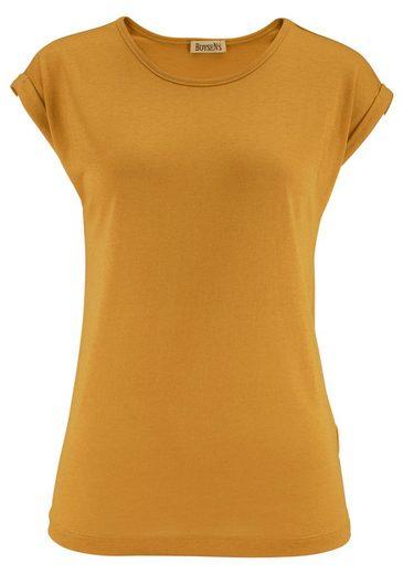 Boysen's T-Shirt, mit überschnittenen Schultern