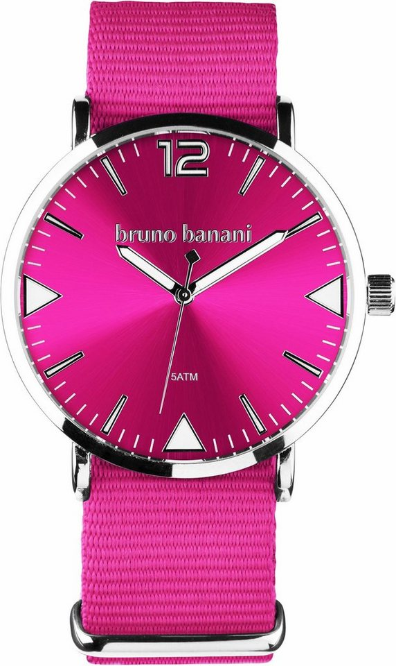 Bruno Banani Quarzuhr in pink