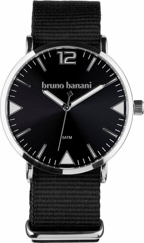 Bruno Banani Quarzuhr in schwarz