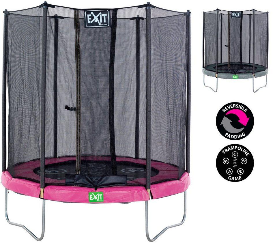 exit trampolin twist pink grau in 5 gr en otto. Black Bedroom Furniture Sets. Home Design Ideas