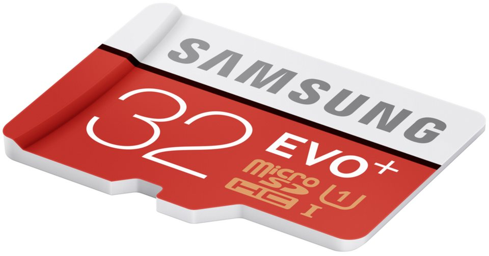 Samsung Speicherkarten »microSDHC Class 10 32GB Evo+ mit Adapter«