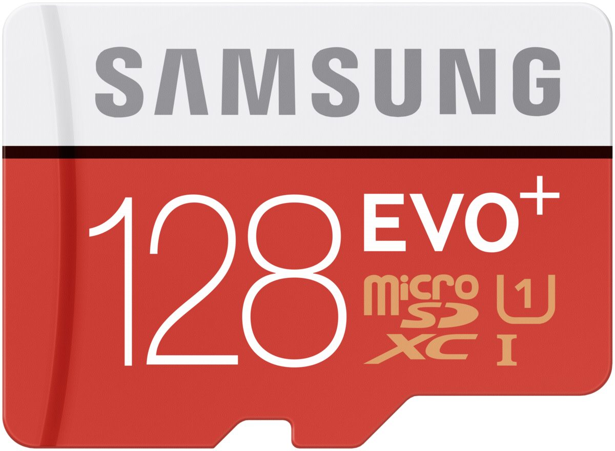 Samsung Speicherkarten »microSDXC Class 10 128GB Evo+ mit Adapter«