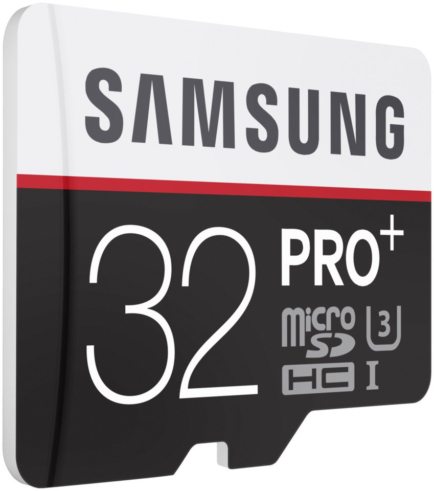 Samsung Speicherkarten »microSDHC Class 10 32GB Pro+ mit Adapter«