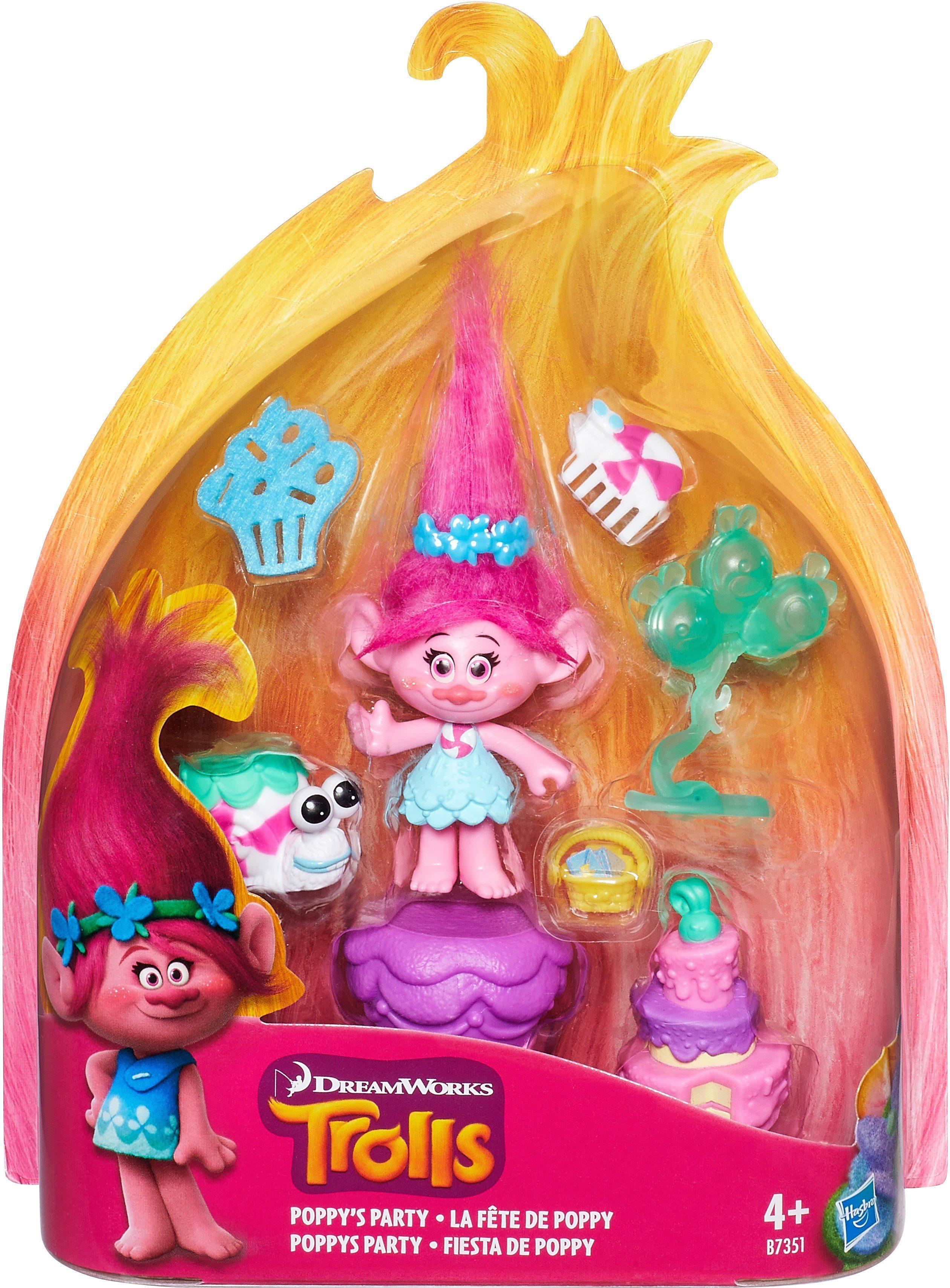 Hasbro Spielfigur, »Trolls Poppy mit Partyzubehör«