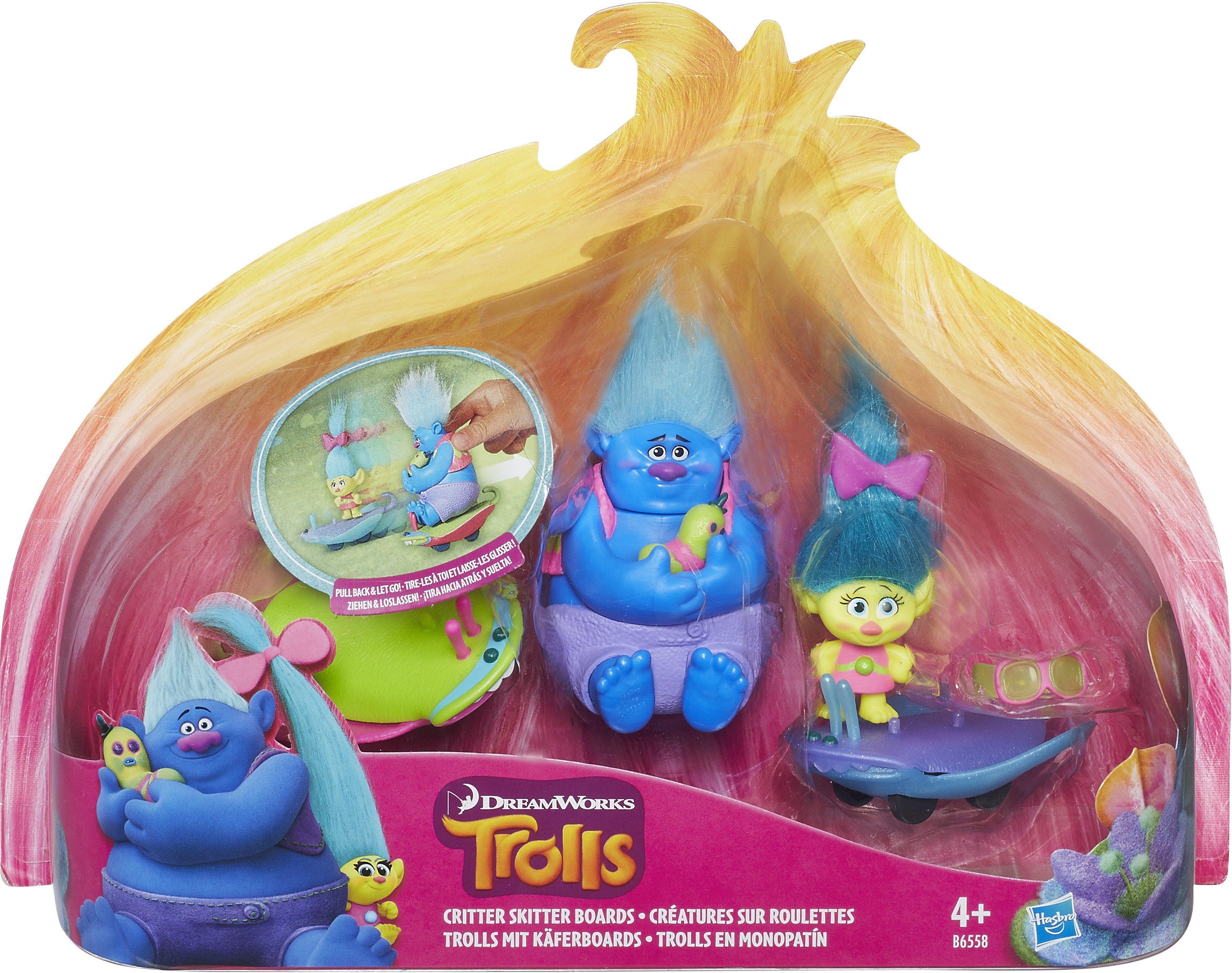 Hasbro Spielfigur, »Trolls mit Käferboards«