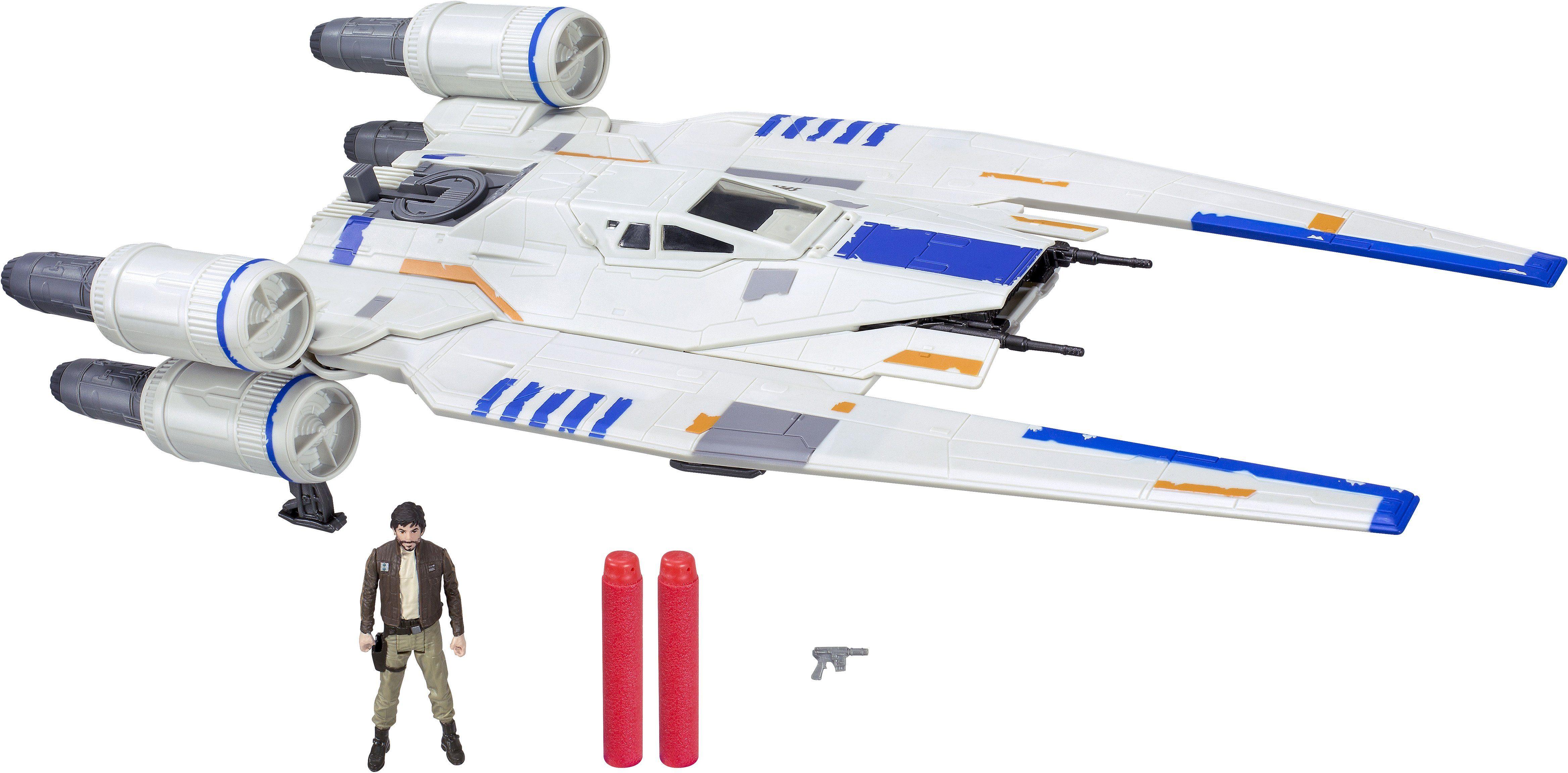 Hasbro Raumschiff mit Spielfigur, »Star Wars, U-Wing Fighter«