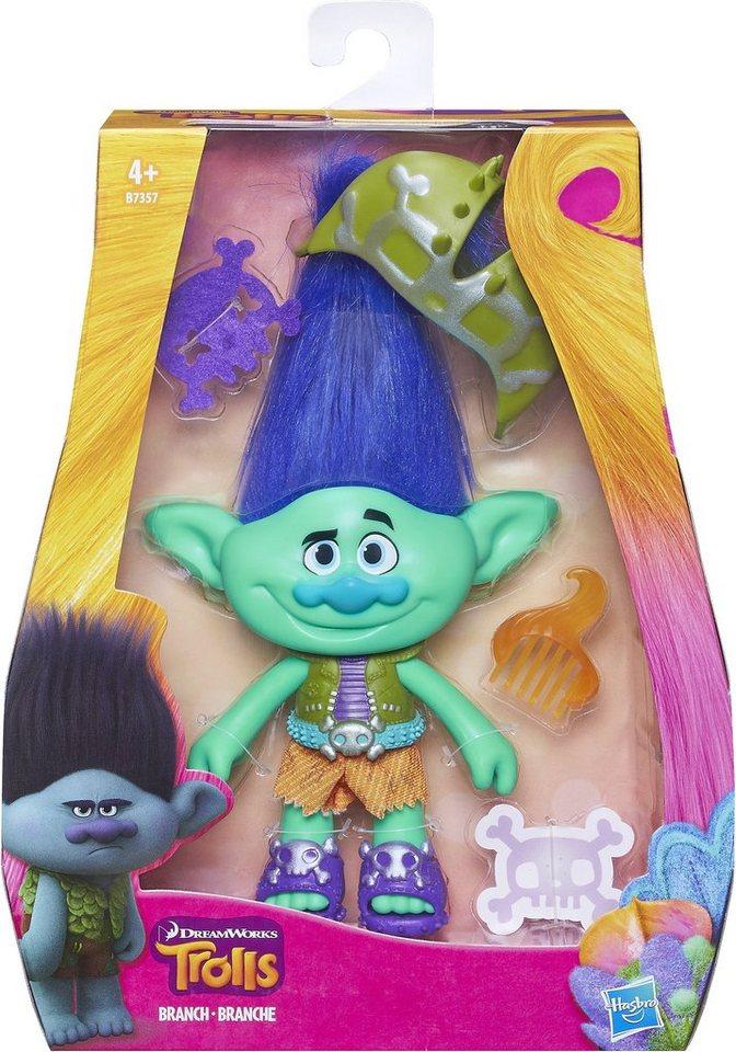 Hasbro Spielfigur, »Trolls Branch mit Zubehör«