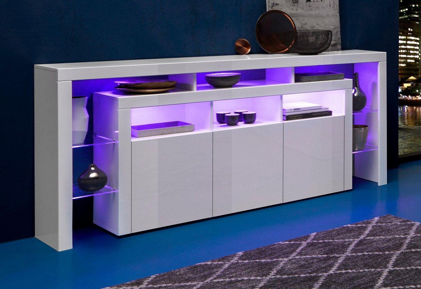 borchardt m bel sideboard breite 192 cm moebel suchmaschine. Black Bedroom Furniture Sets. Home Design Ideas