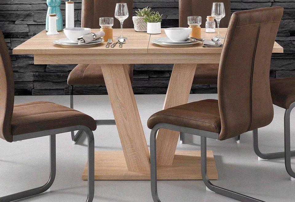 steinhoff esstisch breite 140 oder 160 cm mit auszugsfunktion online kaufen otto. Black Bedroom Furniture Sets. Home Design Ideas