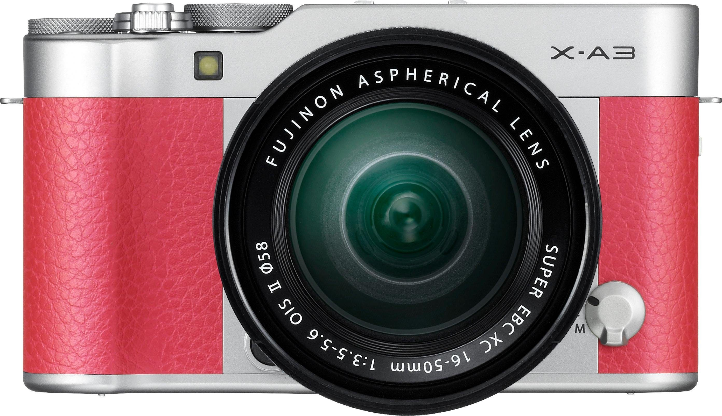 FUJIFILM »X-A3« Systemkamera (FUJINON XC16-50mm F3.5-5.6 OIS II, 24,2 MP, WLAN (Wi-Fi)