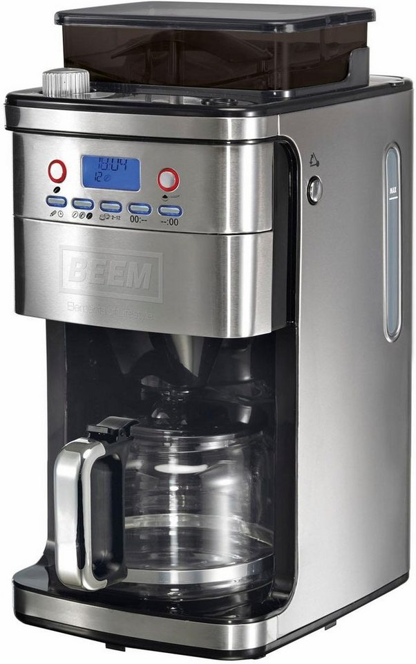 BEEM Kaffeemaschine D2000.659 Fresh-Aroma-Perfect Superior, Glaskanne in silberfarben