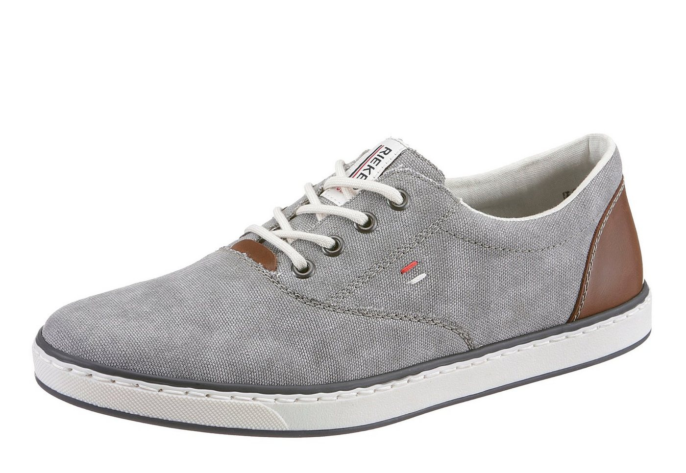 Rieker »Leinen/Bol« Sneaker, im leichten Used Look