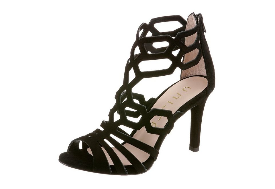 Unisa High-Heel-Sandalette in schwarz