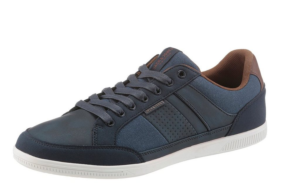 Jack & Jones »JFWBelmont Mixed« Sneaker in navy