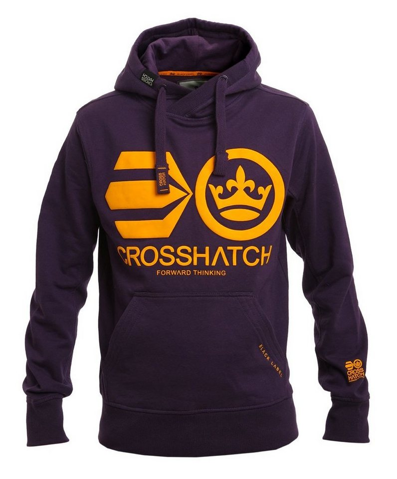 CROSSHATCH Sweatshirt »Quon« in lila