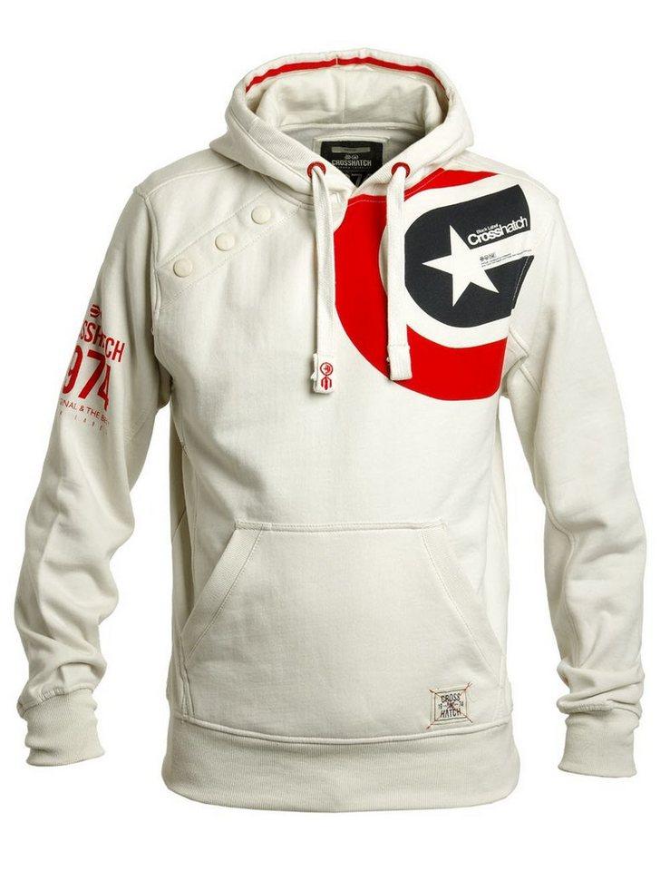 CROSSHATCH Sweatshirt »Stargaze« in weiß