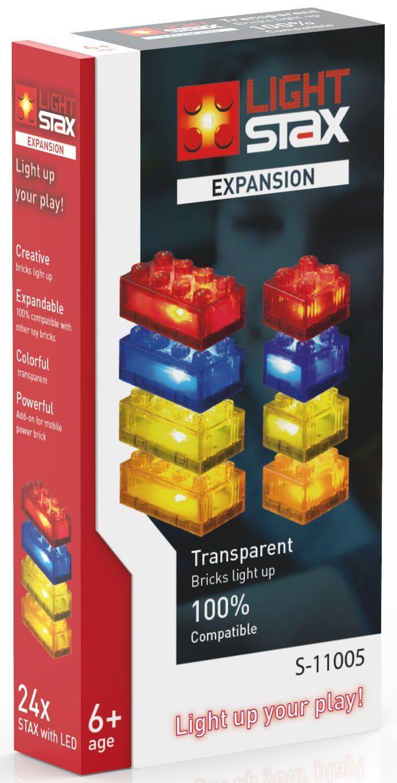 LIGHT STAX® Leuchtbausteine, »Expansion Transparent S-11005«