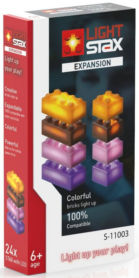 LIGHT STAX® Leuchtbausteine, »Expansion Colorful S-11003«