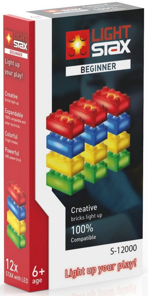 LIGHT STAX® Leuchtbausteine, »Creative Beginner S-12000«
