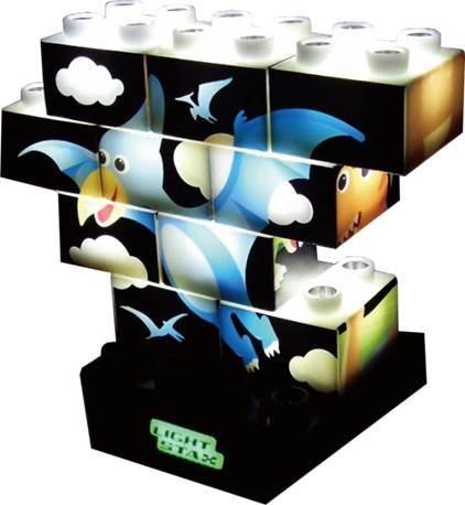 LIGHT STAX® Leuchtbausteine inkl. Power Base, »Junior Stax«