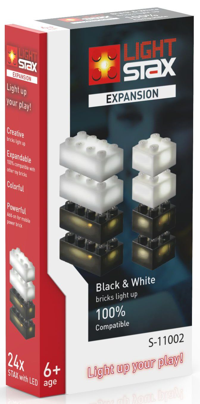 LIGHT STAX® Leuchtbausteine, »Expansion Black & White S-11002«