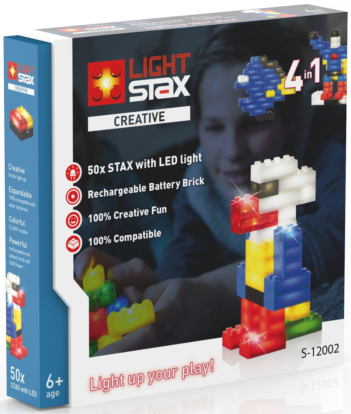 LIGHT STAX® Leuchtbausteine, »Creative S-12002«